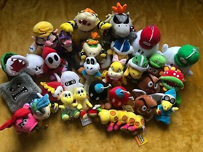 Super Mario Plush Collection - Choice of 35 Enemies Characters - QUICK DISPATCH
