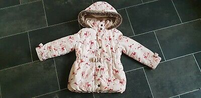 Ted Baker Quilted Girls Coat. Age 5-6