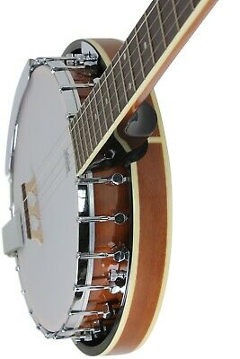 5 String Banjo With Closed Back Resonator and Geared 5th String Tuner