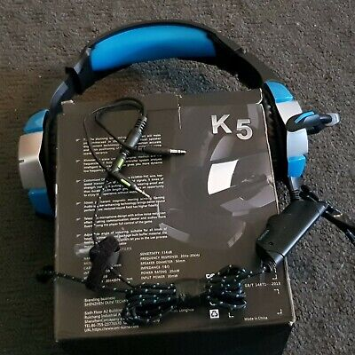 K5 Hi Proformance Professional Gaming Headset