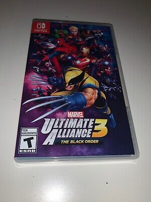 Marvel Ultimate Alliance 3: The Black Order (Nintendo Switch, 2019) New wBox