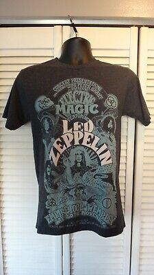 Vintage Led Zeppelin Electric Magic Empire Pool Wembley Tee Shirt Small 11 99 Picclick