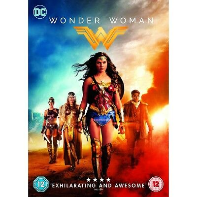 Wonder Woman (DVD 2017) Gal Gadot/Chris Pine