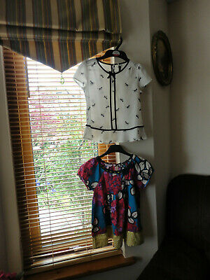 Stunning Girls  Tops from Monsoon and Next, Size 7-8 yo