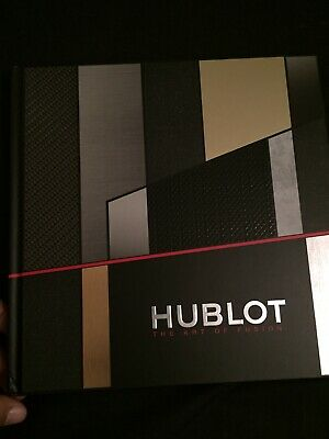 Hublot Watch Collection Book Hard Back Very Luxurious - Thick and Heavy Book