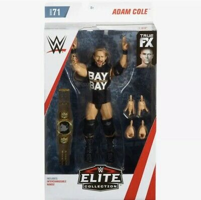 WWE Mattel Adam Cole Elite Series #71 Figure Rare MOC