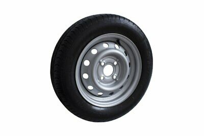 Trailer Wheel & Tyre Steel R13 Rim with 4 Stud Fitment 100mm PCD