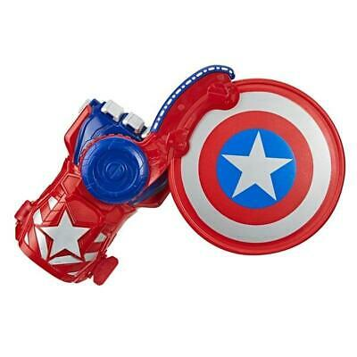 Avengers Power Moves: Captain America's Shield Disc Action Toy Playset For Kids