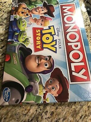 Monopoly Disney Pixar Toy Story New Inbox