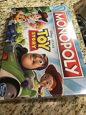 Monopoly Disney Pixar Toy Story By Hasbro Gaming New In Box