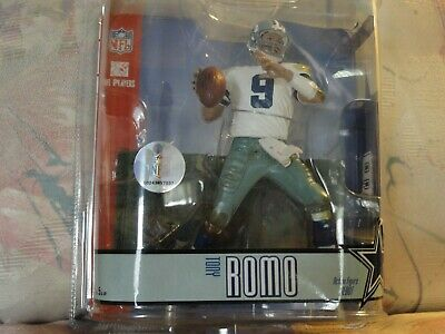 Tony Romo Loose Mint McFarlane College Series 2 FREE FAST SHIPMENT