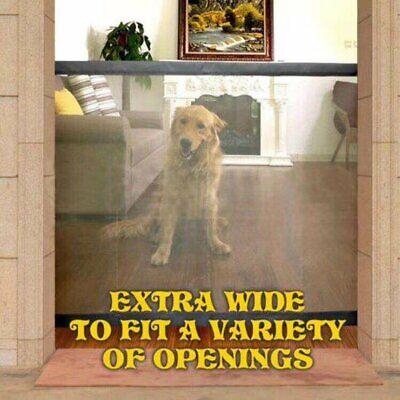 Pet Gate Magic Gate For Dogs Baby Safety Gate Folding Safe Guard G001