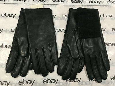 2 Women's Leather Gloves - Black & Brown - A New Day Brand Target - XS/S