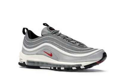 SCARPE UOMO NIKE Air Max 97 Silver Argento Sneakers Shoes