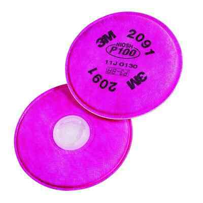 3M 76582 2091 P100 Particulate Filters (2-PK)