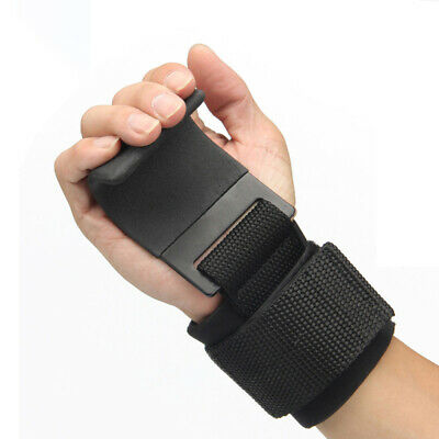 2Fit Weight Lifting Gym Training Hook Wrist Support Gripper Straps Gloves UK