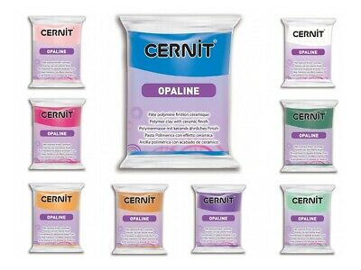 Cernit OPALINE, Modelliermasse, Polymer Clay - 56g Packung