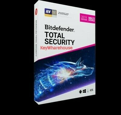 🛑BitDefender total security 2020 - 3 Months