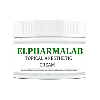 ELPHARMALAB®, Topical Anesthetic Cream, 2 Fl.oz