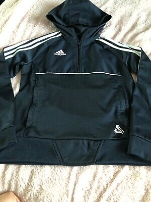 Boys / Girls Adidas Originals Navy Blue Half Zip Up Track Top / Jacket, Age 9-10