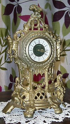 Antique/Vintage Mantel Clock. Working. Mechanical. Germany. Nice Condition.