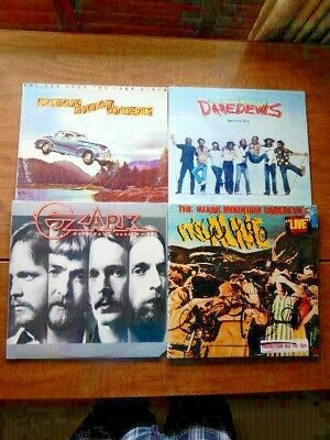 5 Lps-OZARK MOUNTAIN DAREDEVILS-Live, Don't Look Down, Name, Car Over The Lake