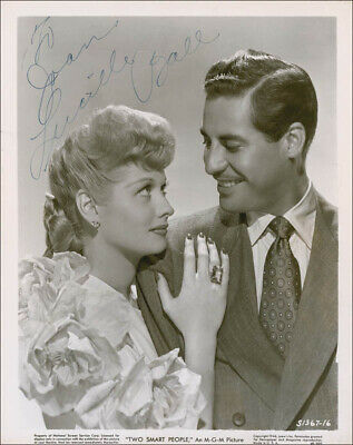 """Lucille """"Lucy"""" Ball - Inscribed Photograph Signed"""