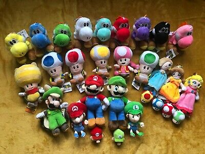 Super Mario Plush Teddy Toys Choose From 35 Different Heroes