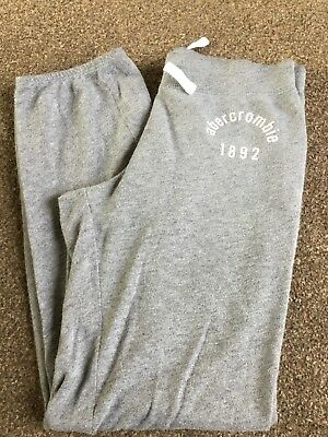 Girls abercrombie & Fitch KIDS Grey Sweatpants Size Small