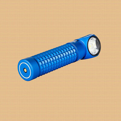 New in Box! Olight Perun Limited Edition Blue 2000 Lumen Rechargeable Flashlight