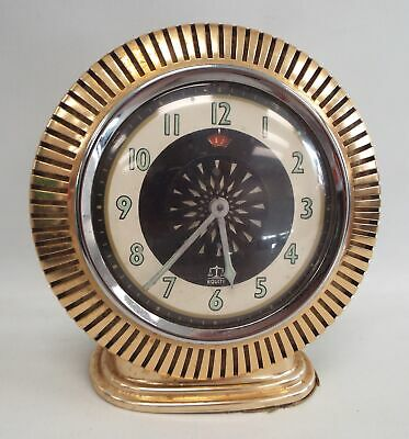Vintage EQUITY Wind Up Mechanical ALARM CLOCK - G06