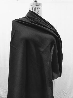 100% Cotton Fabric By the Yard light weigh cotton Sheer Black Face Cover