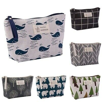 Pouch Makeup Bag Cosmetic Travel Case Wash Portable Toiletry Organizer Storage