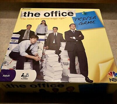 2008 Pressman NBC Dunder Mifflin The Office Trivia Game – Complete