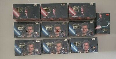 Star Wars Young Jedi Cards 48 Starter Packs Of 30 Cards + 162 Packs Of 11 Cards