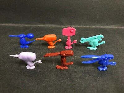 Cereal Toy R&L Tooly Birds 1970 Lot Of 7