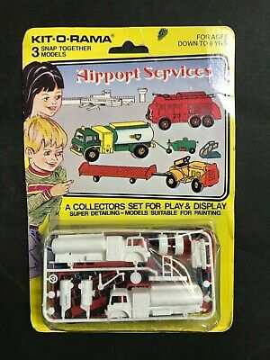 Cereal Toy R&L Airport Services Kit-O-Rama Boxed Set Of 3