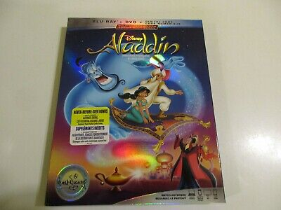Disney Aladdin (Blu-ray + DVD + Digital, Bilingual)