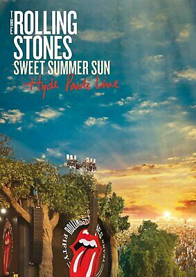 604718 791980 Music Dvd Rolling Stones (The) - Sweet Summer Sun - Hyde Park Live