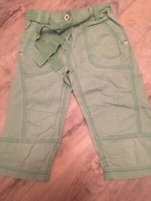 Girls Next Cropped Trousers Aged 7 Years