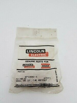 "Lincoln Electric KP1995-1 Nozzle Insulated Guide 2"" 068-5/64 New Weld Equipment"