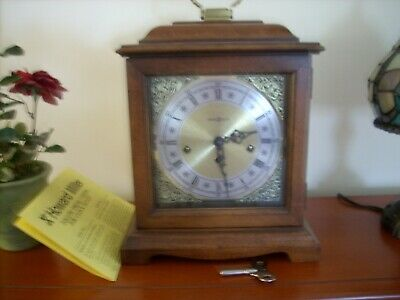 Howard Miller Mantle Clock -340-020 - Two Jewels - Germany - Key Included (
