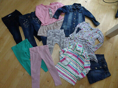 NEXT girls 10 piece clothes bundle jeans skirt jumper AGE 3 - 4 YEARS EXCELLENT