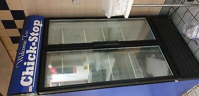 Commercial display fridge
