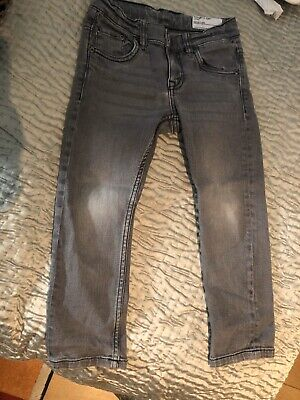 Polarn o Pyret grey boys jeans 104 cm, skinny, note that waist seems larger