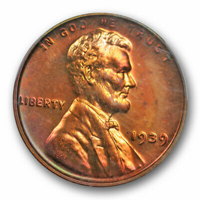 you pick 1939-S 1C Lincoln Wheat Cent UNC RD  K8572