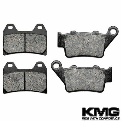 KMG Front Brake Pads for 2003 Suzuki GSXR 1000 K3 Non-Metallic Organic NAO Brake Pads Set