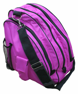 A&R Deluxe Ice Figure Skate Carry Bag Roller Blade In Line Bag Berry-5 SKBAGBY