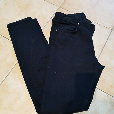 """Boy's / Men's Trousers / H&M / 29"""" / Navy Blue / Very Good Condition"""