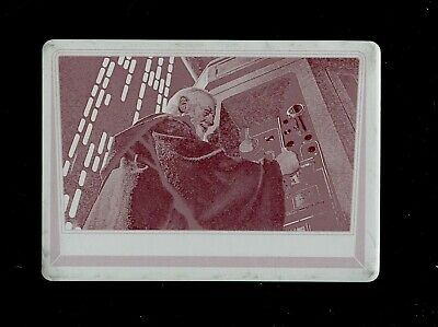 Star Wars Journey to Rogue One Printing Plate #41 OBI-WAN KENOBI 1/1